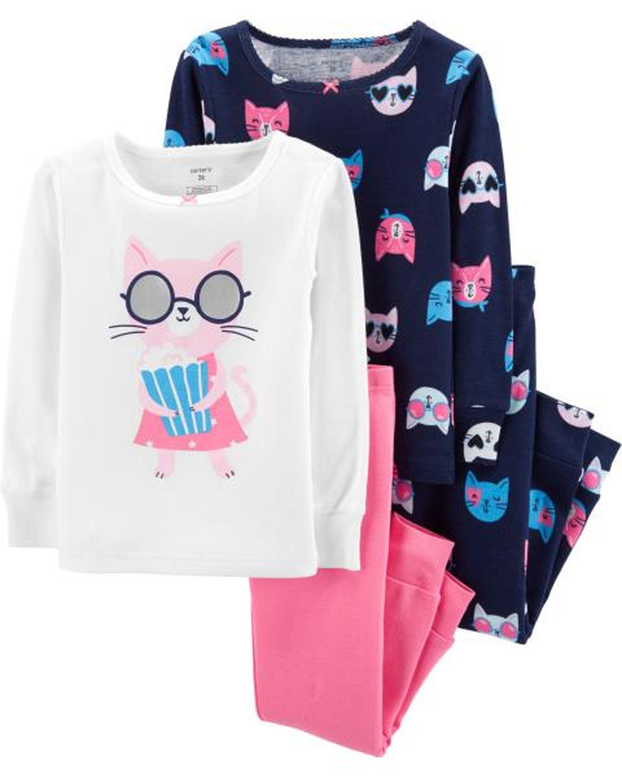 Піжама для дівчинки 1шт. (білий реглан і рожеві штани) Carter`s 1655200  купити за 225 грн. в Україні. 5fa1111b62908