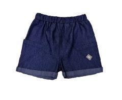 Трикотажные шорты для мальчика (имитация джинсу), 7ЛК004