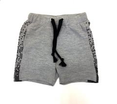 Трикотажные шорты для мальчика (серые), 7ЛК104