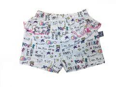 Трикотажні шорти для дівчинки (сірі), 7СК005