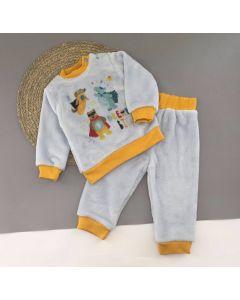 Плюшева піжама для хлопчика, Lotex 3981-21