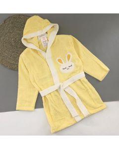 Махровий халат для дитини (жовтий), 354 Minilori Baby