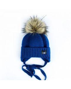 В'язана шапка для дитини (синя), Talvi  01667