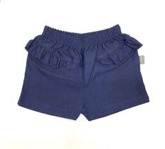 Трикотажні шорти для дівчинки (сині), 7СК005