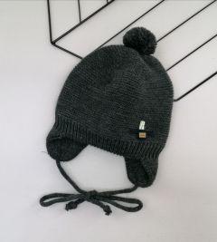 Трикотажна шапка для дитини (темно-сіра), Talvi 01427