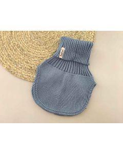 Трикотажна манішка для дитини (сіро-голуба), Talvi 01443