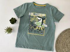 Футболка для хлопчика (сіро-зелена), Robinzone ФБ-305