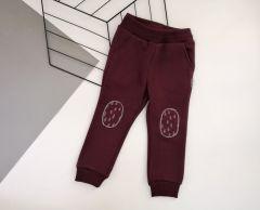 Трикотажні штани для дитини (бордові), Robinzone ШТ-301