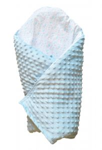 Ковдра-конверт для новонароджених (блакитний), BODIK