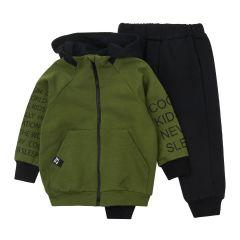 Трикотажний комплект для хлопчика (зелений), К2ДВ103