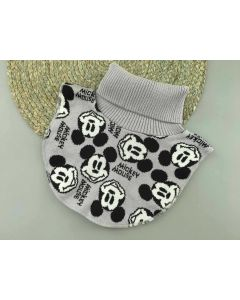 """Трикотажна манішка """"Mickey Mouse"""" для дитини (сіра), Talvi 01812"""