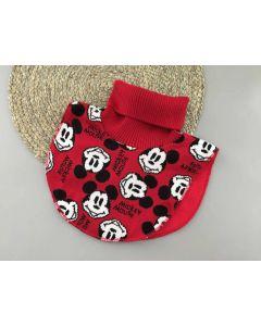 """Трикотажна манішка """"Mickey Mouse"""" з флісом для дитини (червона), Talvi 01813"""