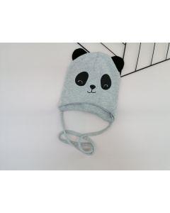 Трикотажна шапка для дитини (сірий меланж), Talvi 01351
