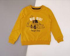 Трикотажный свитшот для мальчика (желтый),  Robinzone КФ-620