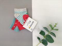 Набір шкарпеток для дитини (2 шт.), яблуко, Defne 10555