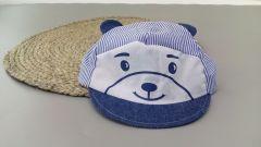 Літня кепка для хлопчика (синя смужка), Мамина мода Б001