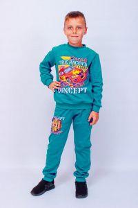 Трикотажний комплект з начосом для хлопчика, p-6063-023-33-2-v