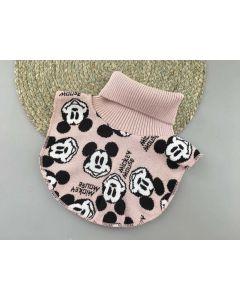 """Трикотажна манішка """"Mickey Mouse"""" для дитини (рожева пудра), Talvi 01812"""