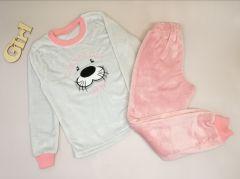 Плюшева піжама для дівчинки, Мамине чадо 31-40