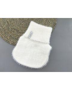Тепла манішка для дитини (біла), Talvi 01783