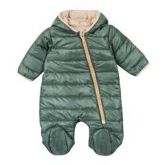 Теплий комбінезон з капюшоном для дитини (хакі), 8ПЛ063