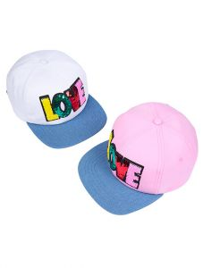 """Літня кепка для дівчинки """"Пауліта"""" 20.03.045 (біла)"""