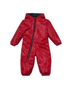 Теплий комбінезон з капюшоном для дитини (червоний), 8ПЛ067