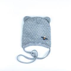 Трикотажна шапка для дитини (сіра), Talvi 01286