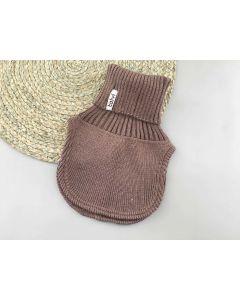 Трикотажна манішка для дитини (коричнева), Talvi 01443