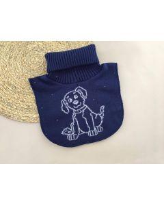 Трикотажна манішка для дитини (синя), Talvi 01484