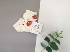 Набір шкарпеток для дитини (2 шт.), лисички, Defne 10555