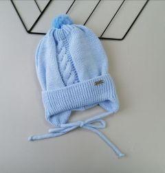 Трикотажна шапка для дитини (блакитна), Talvi 01396