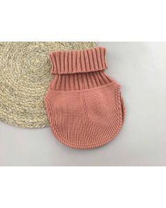 Трикотажна манішка для дитини (темно-рожева пудра), Talvi 01596