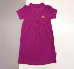 Плаття-поло для дівчинки (фіолетове), ПЛ-62