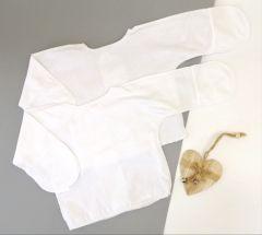Трикотажная распашонка для малыша 1 шт. (молочная), 10450