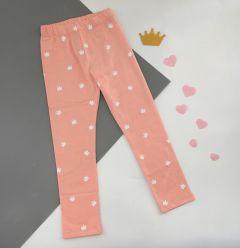 Трикотажні лосіни для дівчинки (світло-рожеві), ЛС-182