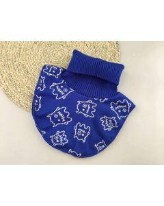 Трикотажна манішка з флісом для дитини (синя), Talvi 01960
