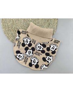 """Трикотажна манішка """"Mickey Mouse"""" для дитини (бежева), Talvi 01812"""