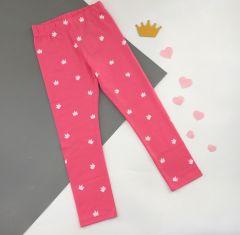 Трикотажні лосіни для дівчинки (рожеві), ЛС-182