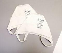 Трикотажна шапка для дитини 1шт. (біла), Мамине чадо 01-28