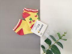 Набір шкарпеток для дитини (2 шт.), вишеньки, Defne 10555