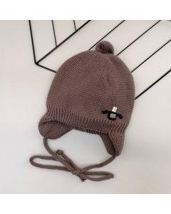 Трикотажна шапка для дитини (коричнева), Talvi 01427