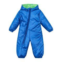 Теплий комбінезон з капюшоном для дитини (синій), 8ПЛ067