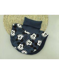"""Трикотажна манішка """"Mickey Mouse"""" з флісом для дитини (темно-синя), Talvi 01813"""