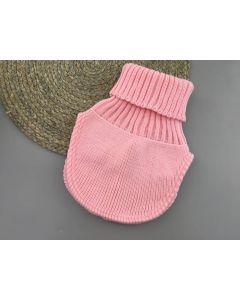Трикотажна манішка для дитини (рожева), Talvi 01596