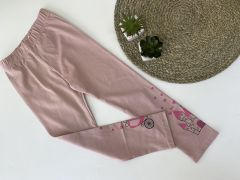 Трикотажні лосіни для дівчинки (рожева пудра), ЛС-183