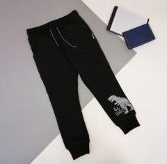 Трикотажні штани для дитини (чорні), Robinzone ШТ-321