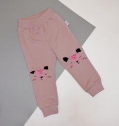 Трикотажні штани для дитини (темна пудра), Robinzone ШТ-327