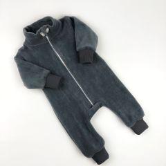Флісовий чоловічок з відкритими стопами (сірий), Coolton