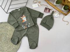Трикотажний комплект для дитини (хакі), Lotex 3741-01